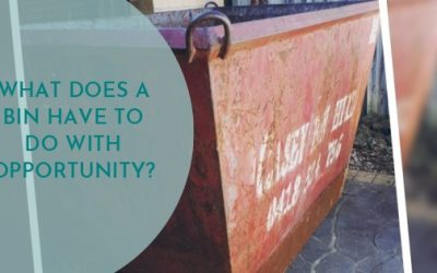 What does a bin have to do with opportunity?